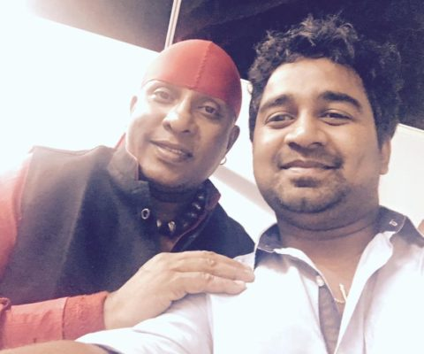 Abhijith PS Nair With Sivamani ( Indian percussionist)