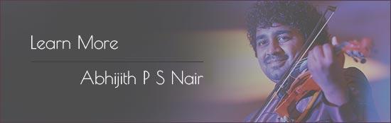 Abhijith P S Nair, Young Music sensation,violinist, composer, arranger, Musicians, Music journey, gallery, Music performance, violinist, arranger, composer