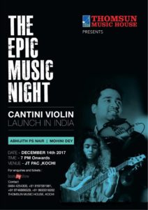 Abhijith PS Nair The Epic Music night Show With Mohini Dey